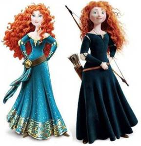 Don't strip Merida of her authentisity.