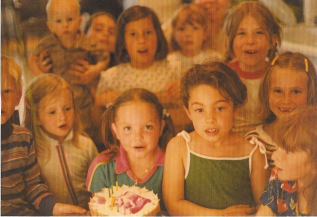 Jenny, Eleanor and Zara (front row center)