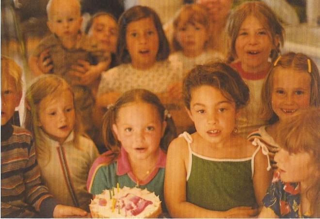 Jenny, Eleanor and Zara (front row center)