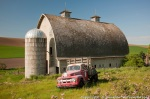 Barn-with-Vintage-Red-Pick-Up-Truck
